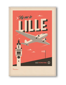 MAGNET FLY ME TO LILLE