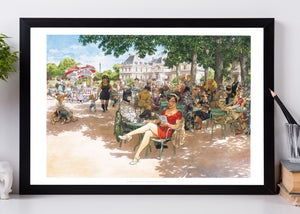 Affiche  60 par 40 cm grand format BLACKSAD Tendres moments