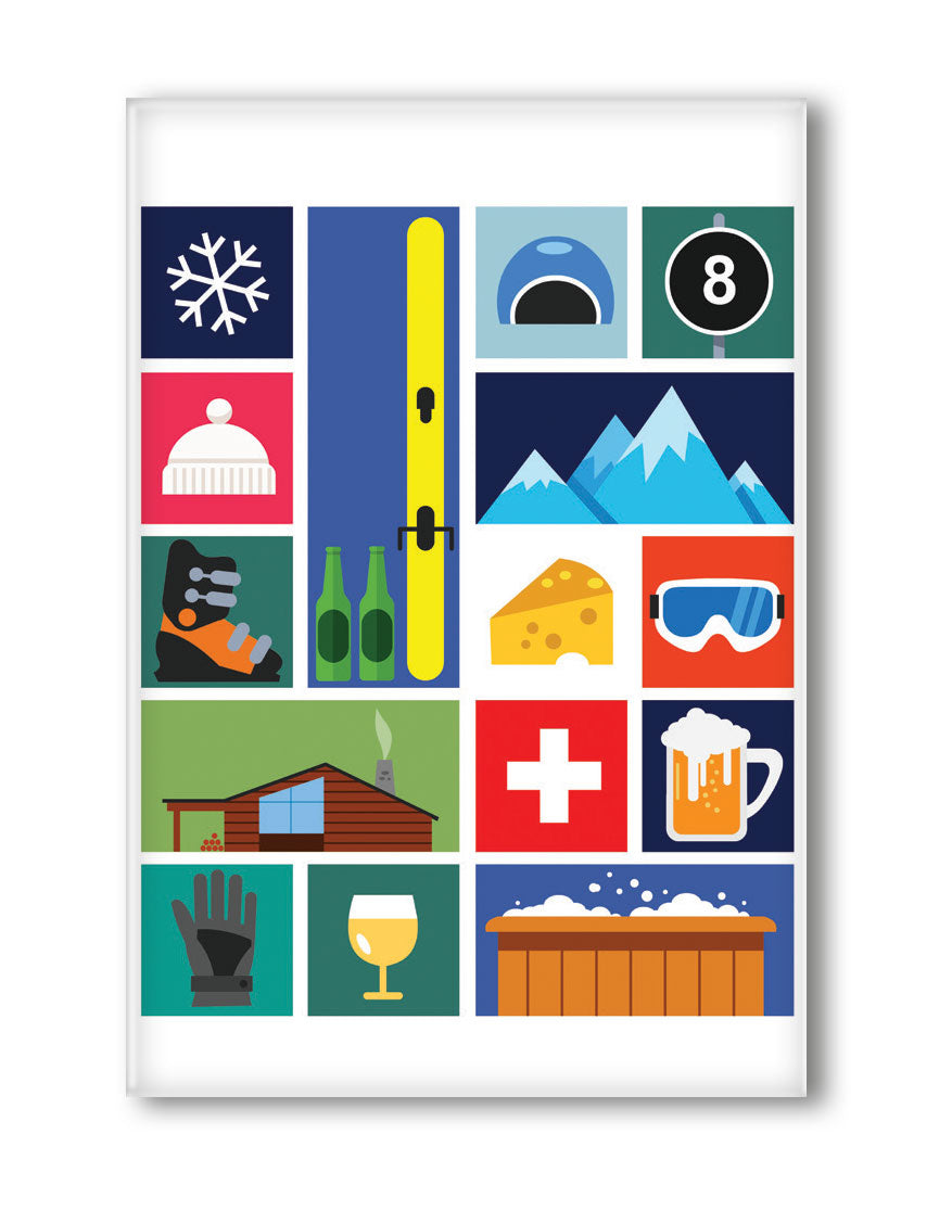 MAGNET SWISS ICONS