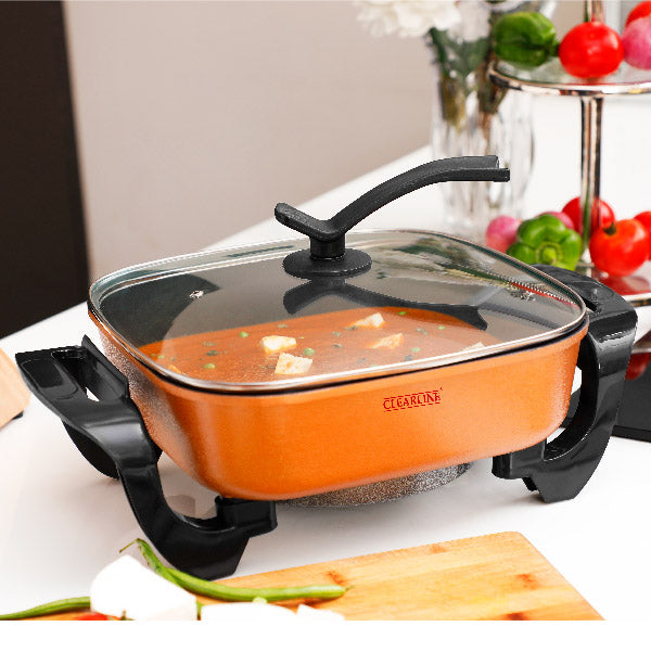 Electric Pan - Cooker - Make Curries / Pizza / Fry Vegetables
