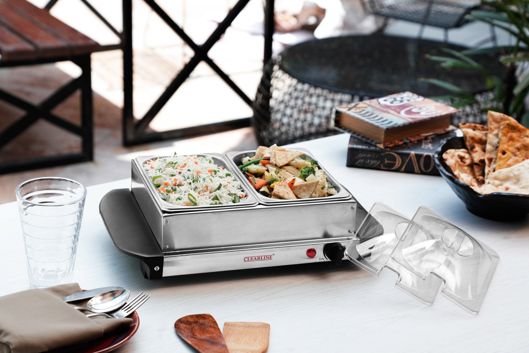 Food Warmer Cum Buffet Server (2 X 1.5L)