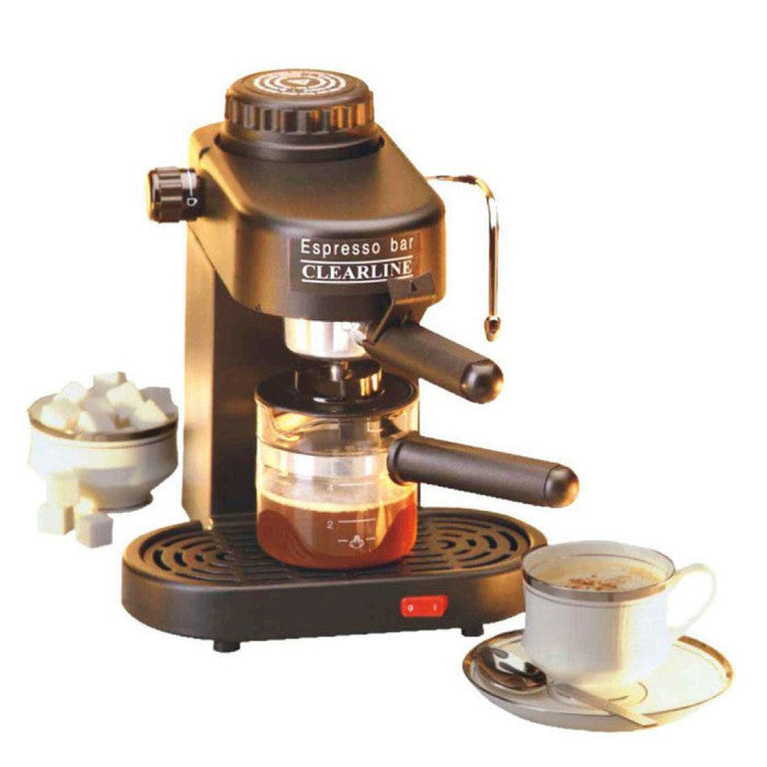 Espresso Coffee Maker - Cappuccino Maker - Coffee Machine - 1 Year Warranty