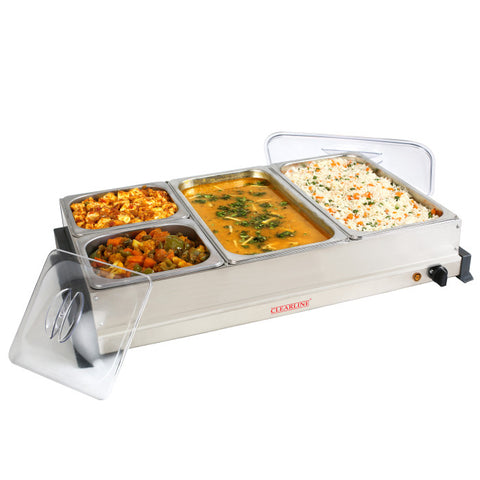 Food Warmer Cum Buffet Server (4 Pan)