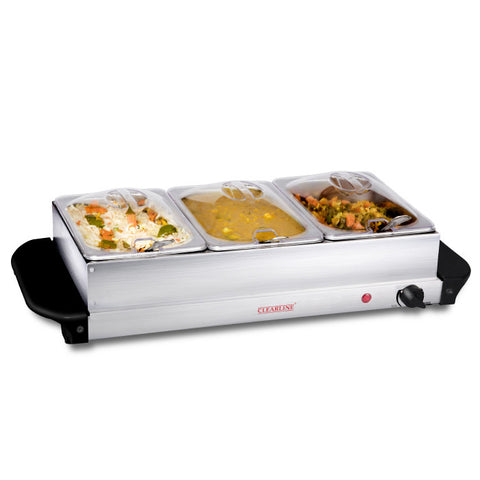 Food Warmer Cum Buffet Server (3 X 1.5L)