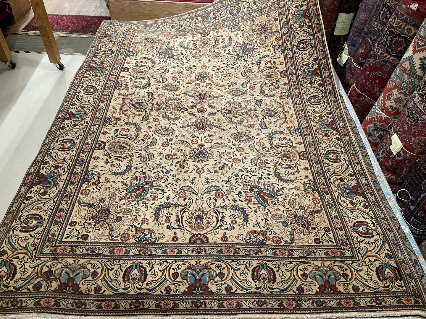 Antique Persian Tabriz - 8x10 / 8X11