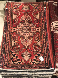 Antique Persian Sarouk - 2.5x4