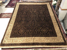 Load image into Gallery viewer, Indian Tabriz  [Wool + Silk] - 8x10 / 8x11