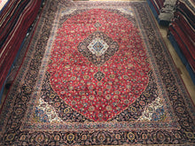 "Load image into Gallery viewer, Persian Keshan - 12'9"" x 18'9"""