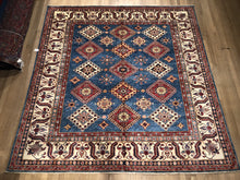 Load image into Gallery viewer, Afghan Super Kazak - Square 8' x 8'4""