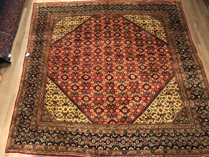 Old Persian Sarouk - Square 9' x 10'