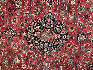 "Persian Meshad - Square 9'7"" x 11'"
