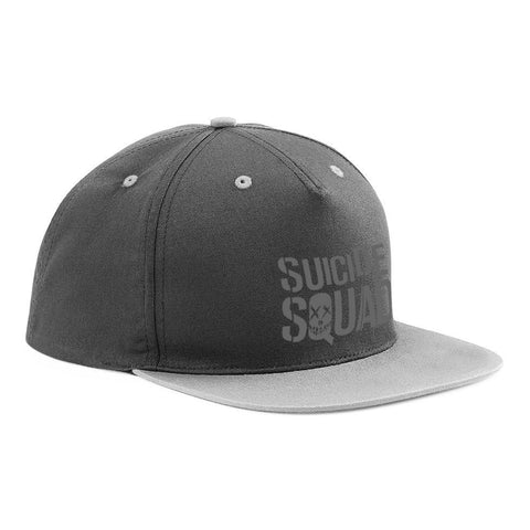 Suicide Squad - Embroidered Logo Snapback Cap - BAY 57