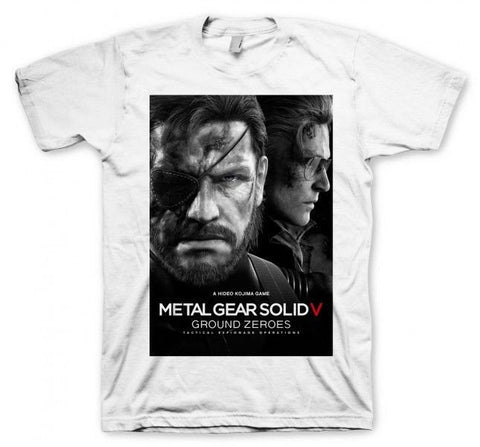 Metal Gear Solid V Boxed T-Shirt - BAY 57