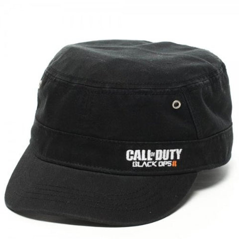 Call Of Duty Black Ops 2 Black Cadet Hat - BAY 57