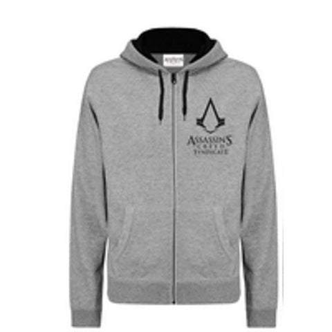 Assassins Creed Syndicate Zip Up Grey Hoodie - BAY 57