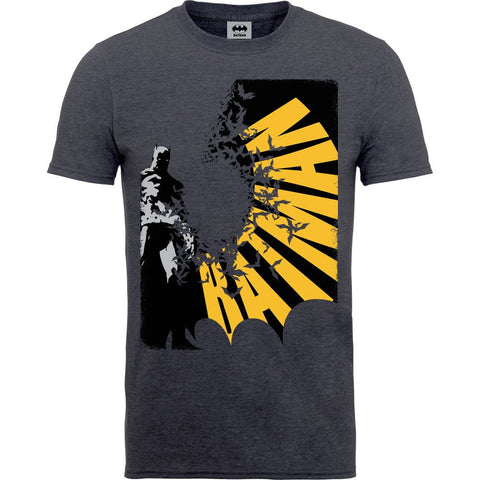 Batman - Bat Spread (COL) Tweed T-Shirt - BAY 57