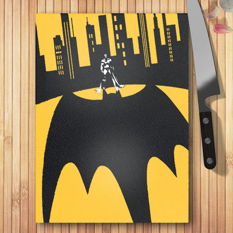 DC Batman In The City Glass Worktop Saver - BAY 57