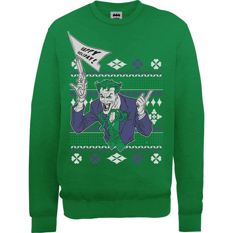 Batman The Joker Christmas Men's Sweatshirt - BAY 57