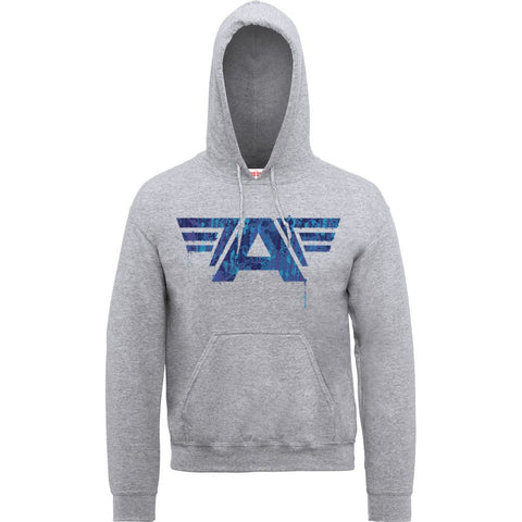 Captain America - Civil War Heather Grey 'A' Game Hoodie - BAY 57