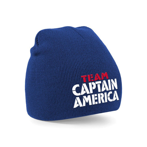 Team Captain America Beanie Blue - BAY 57