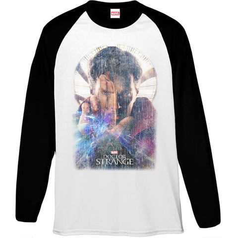 Marvel Dr Strange Poster Men's Baseball T-Shirt - BAY 57