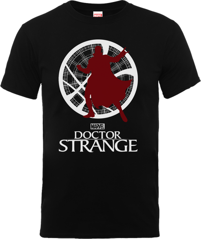 Marvel Dr Strange Silhouette Men's T-Shirt - BAY 57  - 1