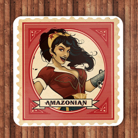 DC Bombshells - Amazonian (Wonder Woman) Coaster - BAY 57