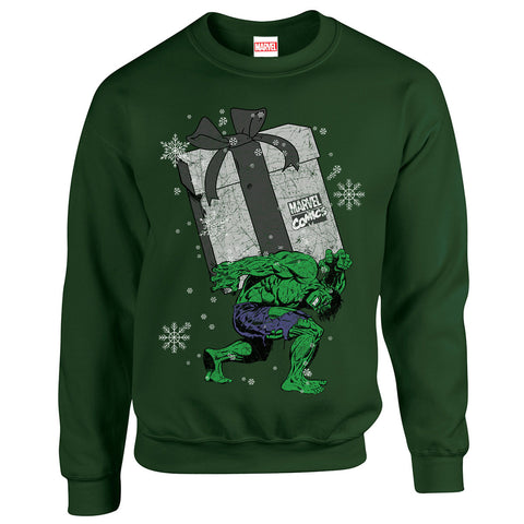 The Hulk Gift Christmas Sweatshirt - BAY 57