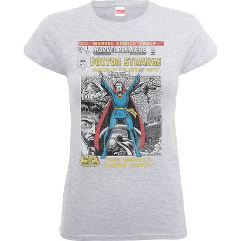Marvel Dr Strange Comic Women's T-Shirt - BAY 57  - 1