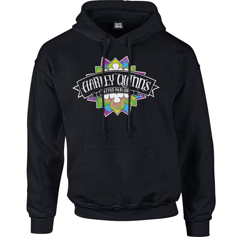 Suicide Squad Harley Quinn Tattoo Men's Hoodie - BAY 57  - 1