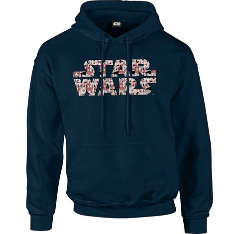 Star Wars Rogue One Rebel Alliance Red Logo Men's Hoodie - BAY 57  - 1