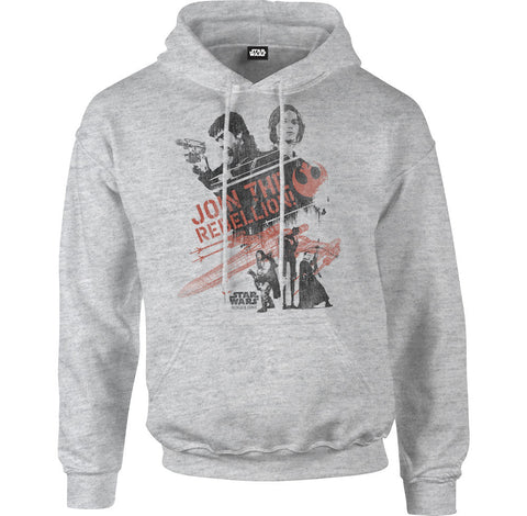 Star Wars Rogue One Join The Rebellion Men's Hoodie - BAY 57  - 1