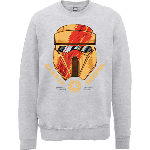 Star Wars Rogue One Scarif Trooper Helmet Sweatshirt - BAY 57