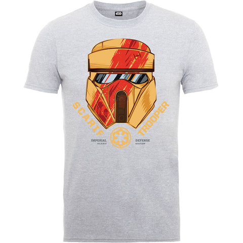 Star Wars Rogue One Scarif Trooper Helmet Men's T-Shirt - BAY 57