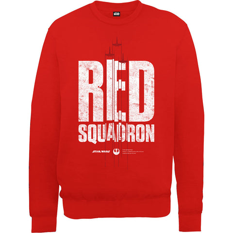 Star Wars Rogue One Red Squardron Fighter Sweatshirt - BAY 57