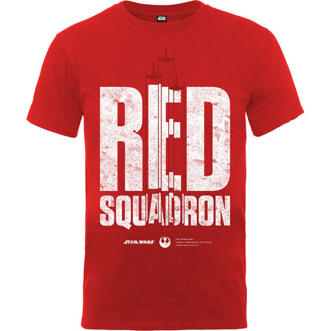 Star Wars Rogue One Red Squardron Fighter Men's T-Shirt - BAY 57