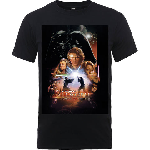 Star Wars Poster Episode III T-Shirt - BAY 57