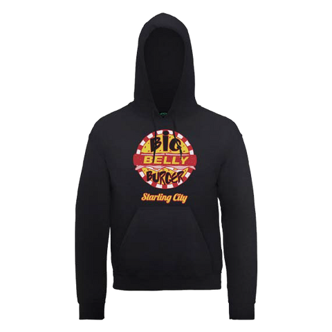 Arrow - Big Belly Burger Black Hoodie - BAY 57
