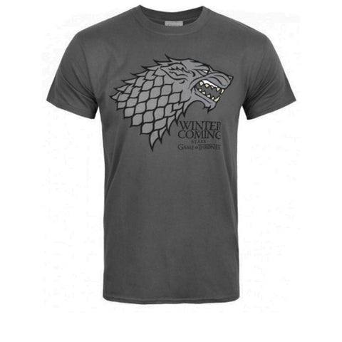 Game Of Thrones House Stark Winter Is Coming T-Shirt - BAY 57