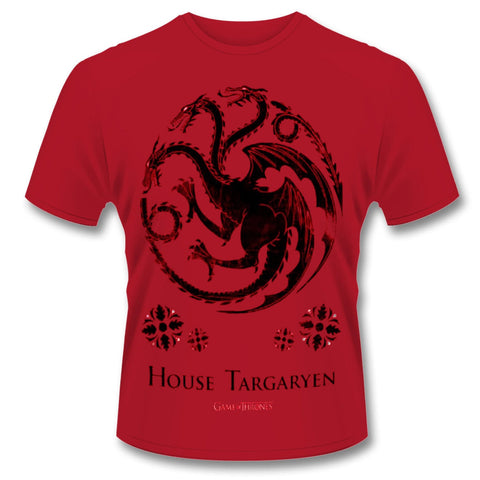 Game Of Thrones House Targarian T-Shirt - BAY 57