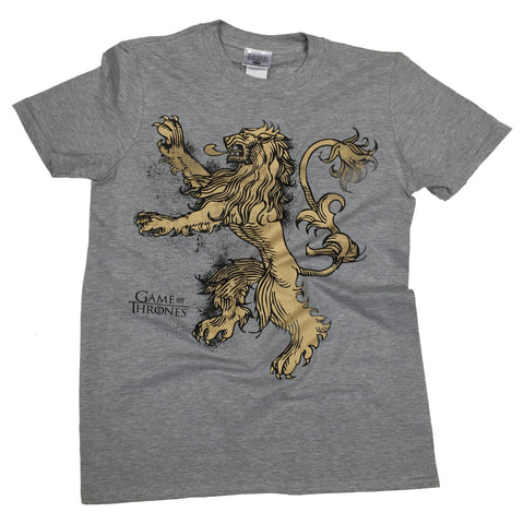 Game Of Thrones House Lannister T-Shirt - BAY 57