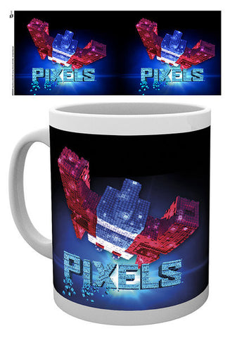 Pixels Galaga Mug In Gift Box - BAY 57