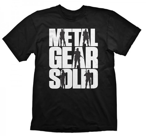 Metal Gear Solid Logo Official T-Shirt - BAY 57