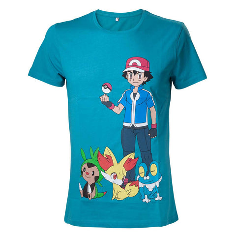 Pokemon Ash Ketchum T-Shirt - BAY 57