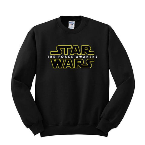 Star Wars The Force Awakens Official Logo Sweatshirt - BAY 57