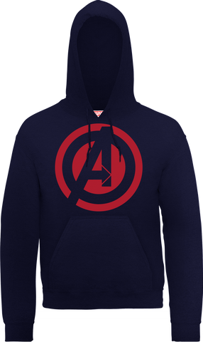 Avengers A Logo Official Navy Hoodie - BAY 57