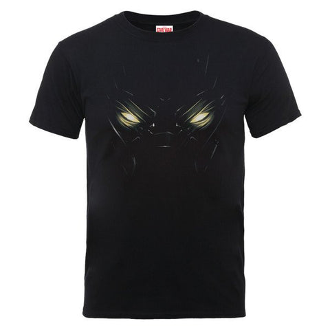 Captain America - Black Panther Eyes Mens T-Shirt - BAY 57