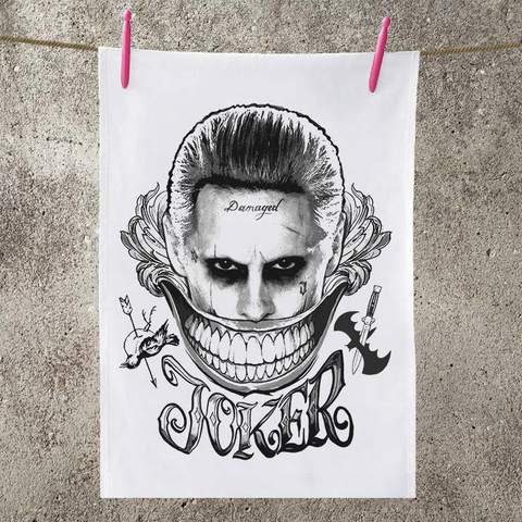 Suicide Squad Joker Smile Tea Towel - BAY 57