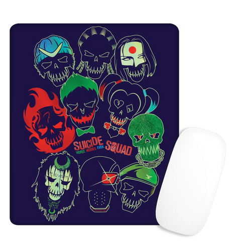 Suicide Squad Band Of Skulls Mouse Mat - BAY 57
