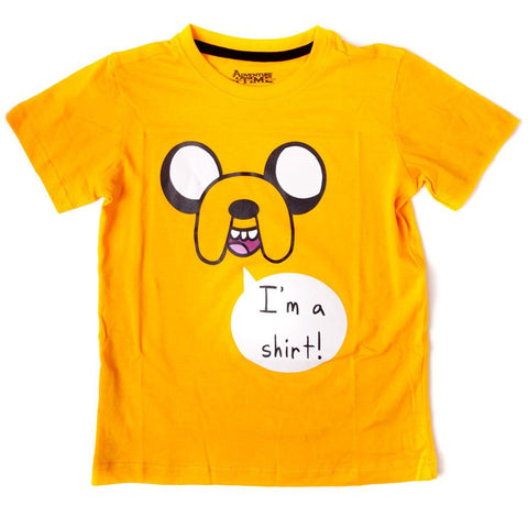 Adventure Time Yellow Boy's T-Shirt - BAY 57